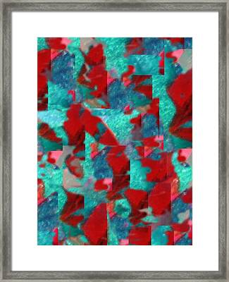 Fractured Memories Framed Print by Paula Andrea Pyle