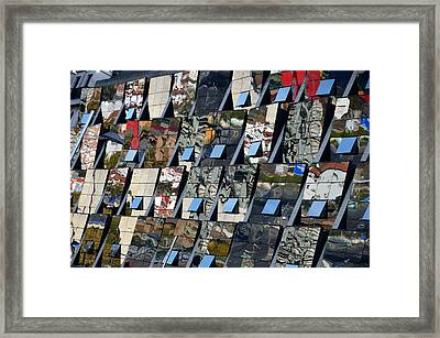 Fragmented Guggenheim Museum Bilbao Framed Print by RicardMN Photography