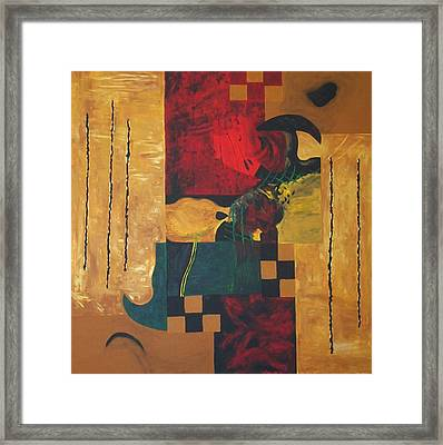 Fragments Number 9 Framed Print by Randall Weidner