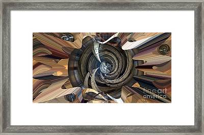 Frame Ceiling Framed Print