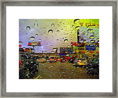 Frame Of Mind Framed Print