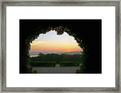 Framed Sunrise Framed Print