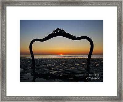 Framed Sunrise Framed Print by Nancie DeMellia