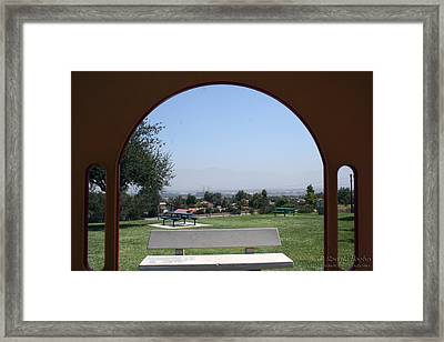 Framed Vista Framed Print