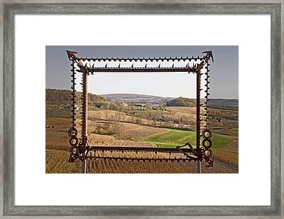Framed Framed Print by Wayne Stabnaw