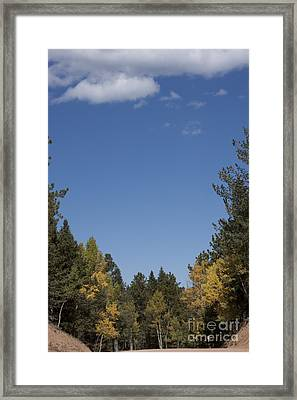 Framed Print featuring the photograph Framing The Sky by Marta Alfred