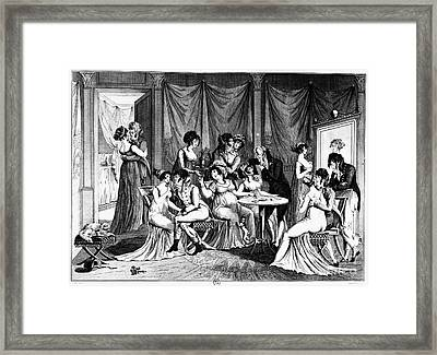 France: Consulate Life Framed Print