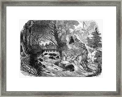 France: Divonne, 1856 Framed Print by Granger