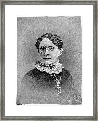 Frances Elizabeth Willard Framed Print