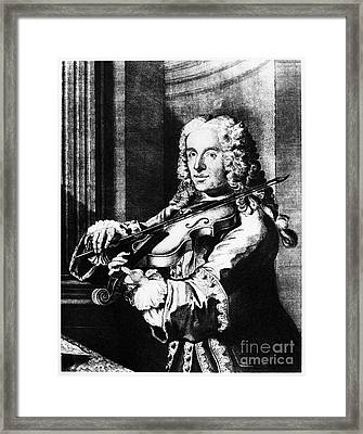 Francesco Maria Veracini Framed Print by Granger