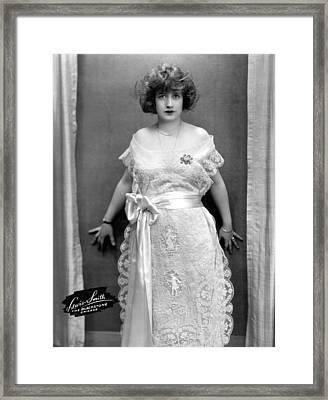 Francine Larrimore, Publicity Shot Framed Print