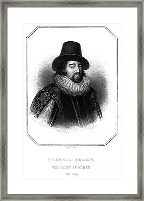 Francis Bacon (1561-1626) Framed Print by Granger