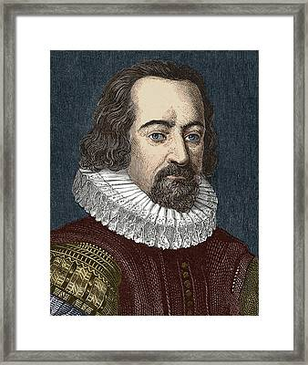 Francis Bacon, English Philosopher Framed Print by Sheila Terry