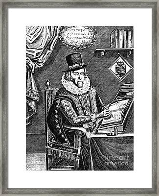 Francis Bacon, English Polymath Framed Print