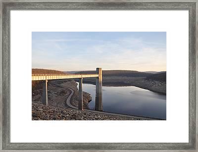 Francis E Walter Dam Framed Print