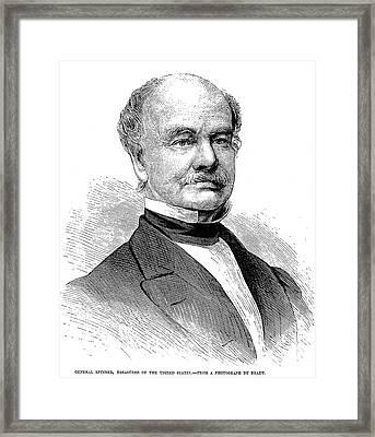 Francis Elias Spinner Framed Print by Granger