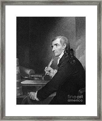 Francis Hopkinson (1737-1791) Framed Print by Granger