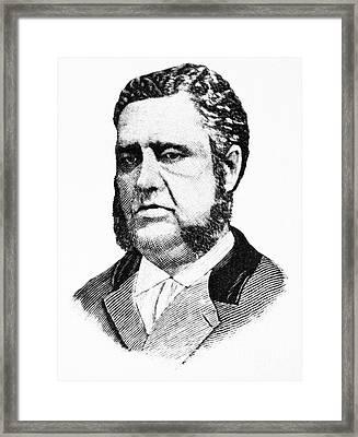 Francis Louis Cardozo (1836-1907) Framed Print by Granger