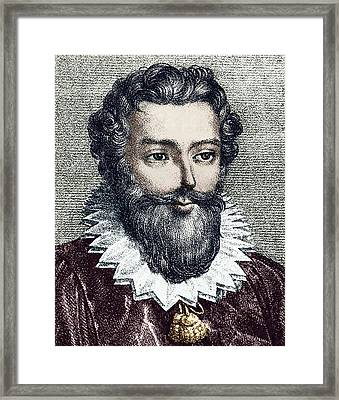 Francois Viete, French Mathematician Framed Print by Sheila Terry