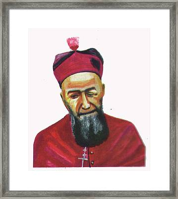 Francois Xavier Vogt Framed Print by Emmanuel Baliyanga