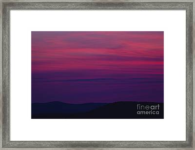Franconia Notch State Park - White Mountain New Hampshire  Framed Print by Erin Paul Donovan