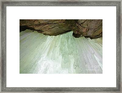 Franconia Notch State Park White Mountains Nh - Flume Gorge Framed Print by Erin Paul Donovan