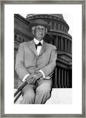 Frank Lloyd Wright 1867-1959, Prominent Framed Print by Everett