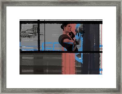 Frank Framed Print by Naxart Studio
