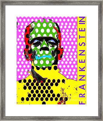 Frankenstein Framed Print by Ricky Sencion