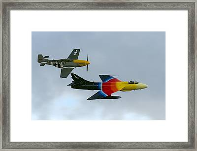 Frankie And Missie Framed Print by Gary Eason