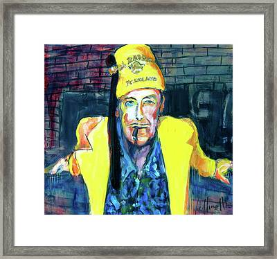 Frankie Delboo  Framed Print by Les Leffingwell