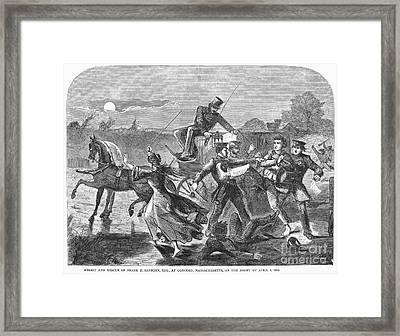 Franklin Benjamin Sanborn Framed Print
