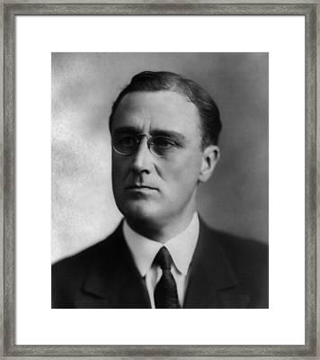 Franklin Delano Roosevelt Framed Print by International  Images