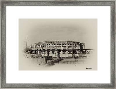 Franklin Field - University Of Penn Framed Print by Bill Cannon