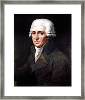 Franz Joseph Haydn Framed Print by Granger
