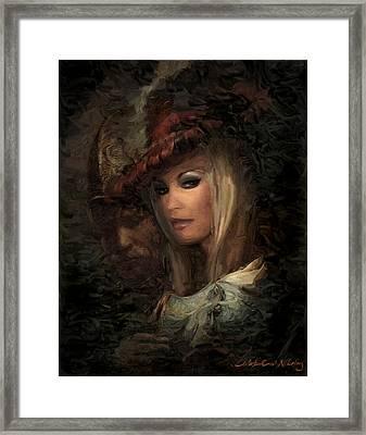 Frau Laura Framed Print by Nikolay Vakatov