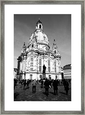 Frauenkirche Framed Print by Falko Follert