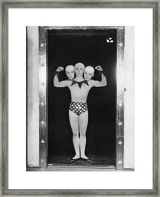 Freak Ballet Framed Print by Sasha