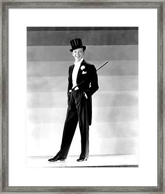 Fred Astaire, 1930s Framed Print by Everett