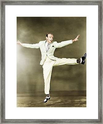 Fred Astaire, Ca. 1930s Framed Print