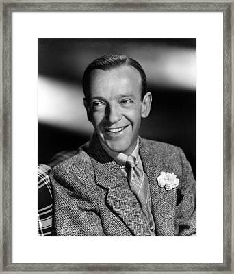 Fred Astaire, Ca. 1940s Framed Print by Everett