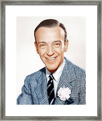 Fred Astaire, Ca. 1941 Framed Print by Everett
