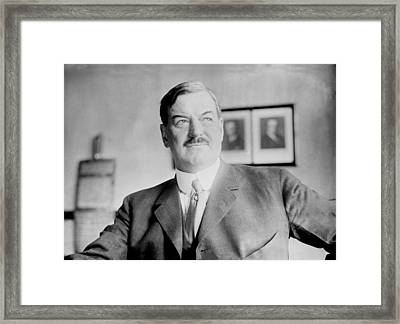 Fred. W. Upham Died 1923, 1923 Framed Print by Everett