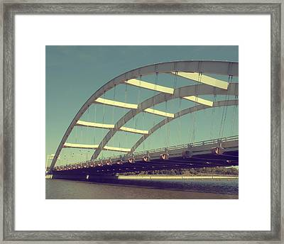 Freddie Sue Bridge Framed Print by Kristen Cavanaugh