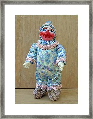 Freddy The Daydreamer Framed Print by David Wiles