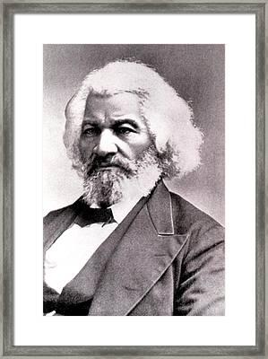 Frederick Douglass Framed Print by Everett