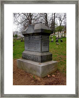 Frederick Douglass Grave Two Framed Print by Joshua House