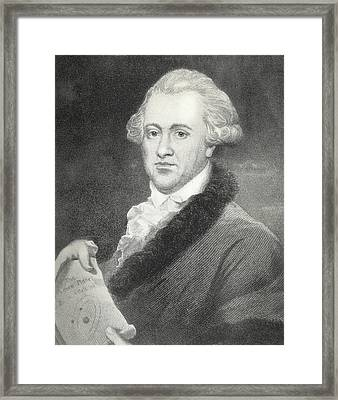 Frederick William Herschel, Astronomer Framed Print by Science, Industry & Business Librarynew York Public Library