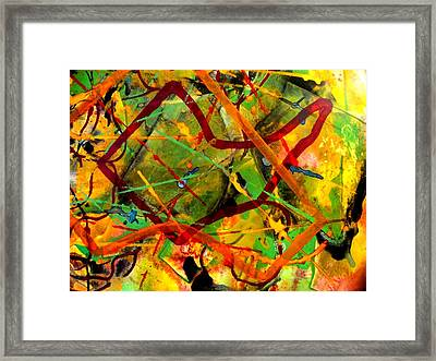 Free Fall Framed Print by John  Nolan