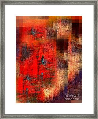 Free Flowing Imagination Framed Print by Fania Simon